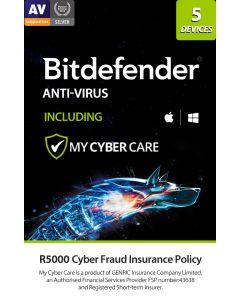 Bitdefender Anti-Virus 5 Dev + MCC DNLD