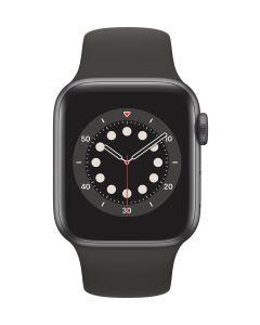 Apple Watch Series 6 GPS 44mm Space Gray Aluminium Case with Black SB