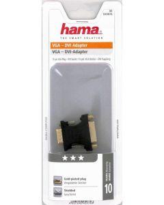 Hama DVI Adapter VGA Plug To DVI Socket Shielded