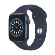 Apple Watch Series 6 GPS 44mm Blue Aluminium Case with Deep Navy SB