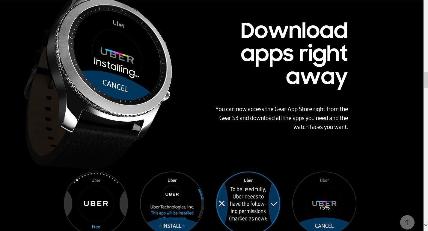 Samsung watch app store